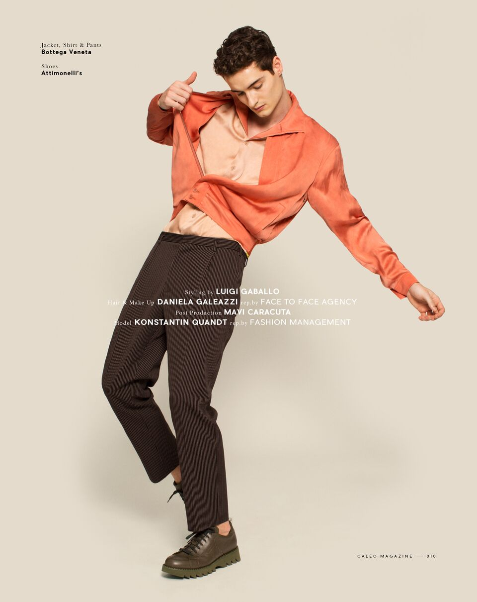 Caleo Magazine – Style in Motion