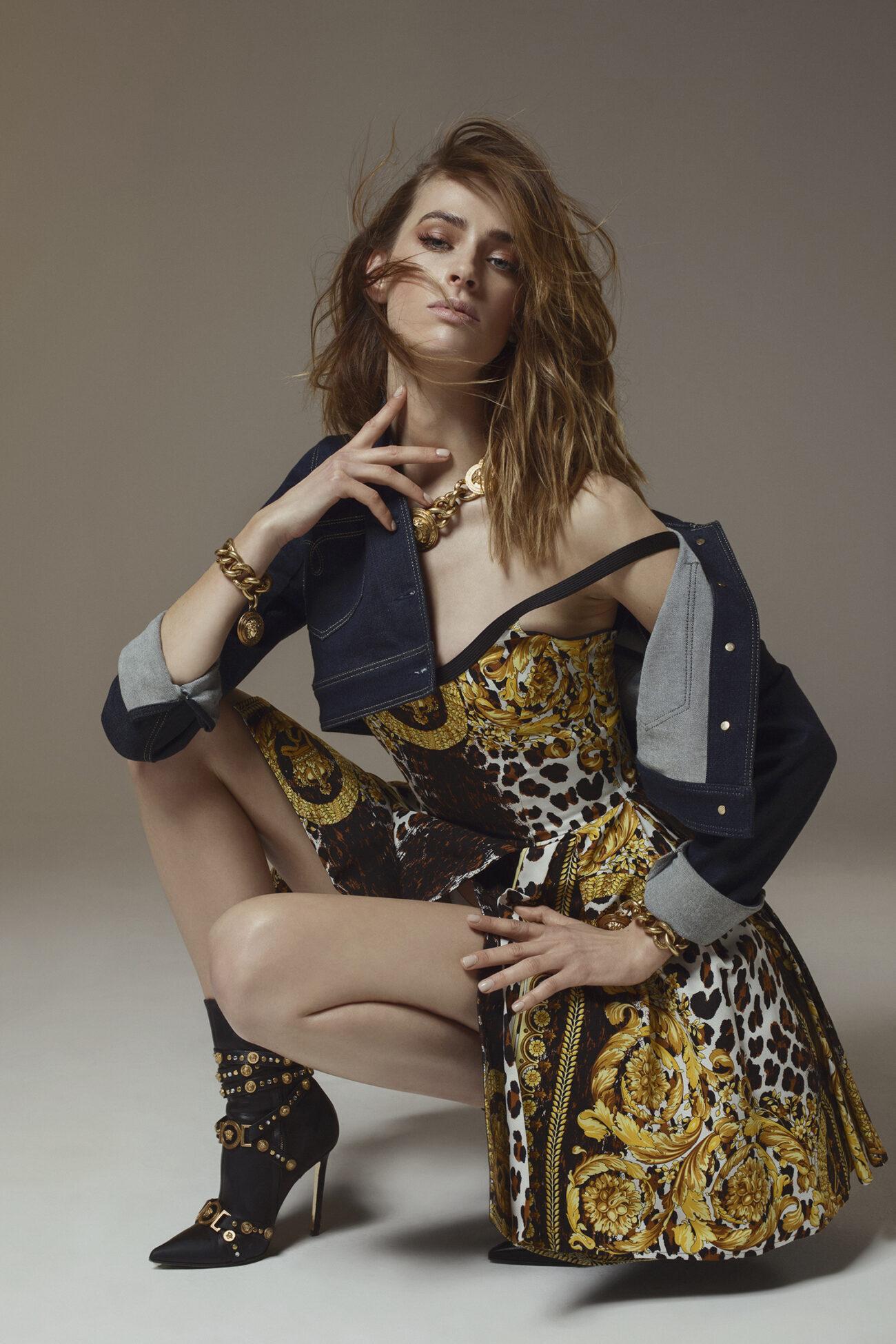 Elle Serbia – Versace Tribute