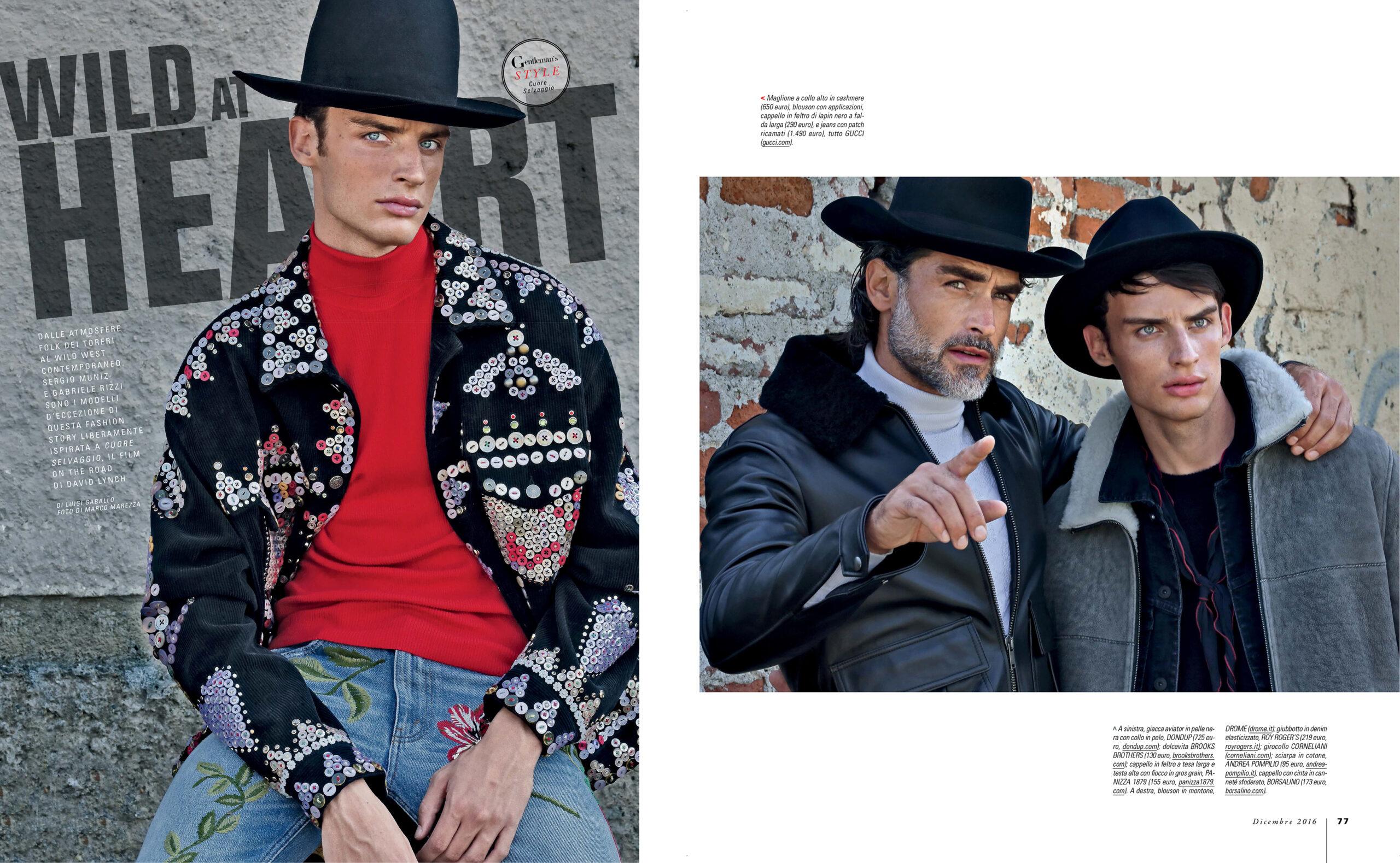Gentleman Magazine Italia – Wild at Heart