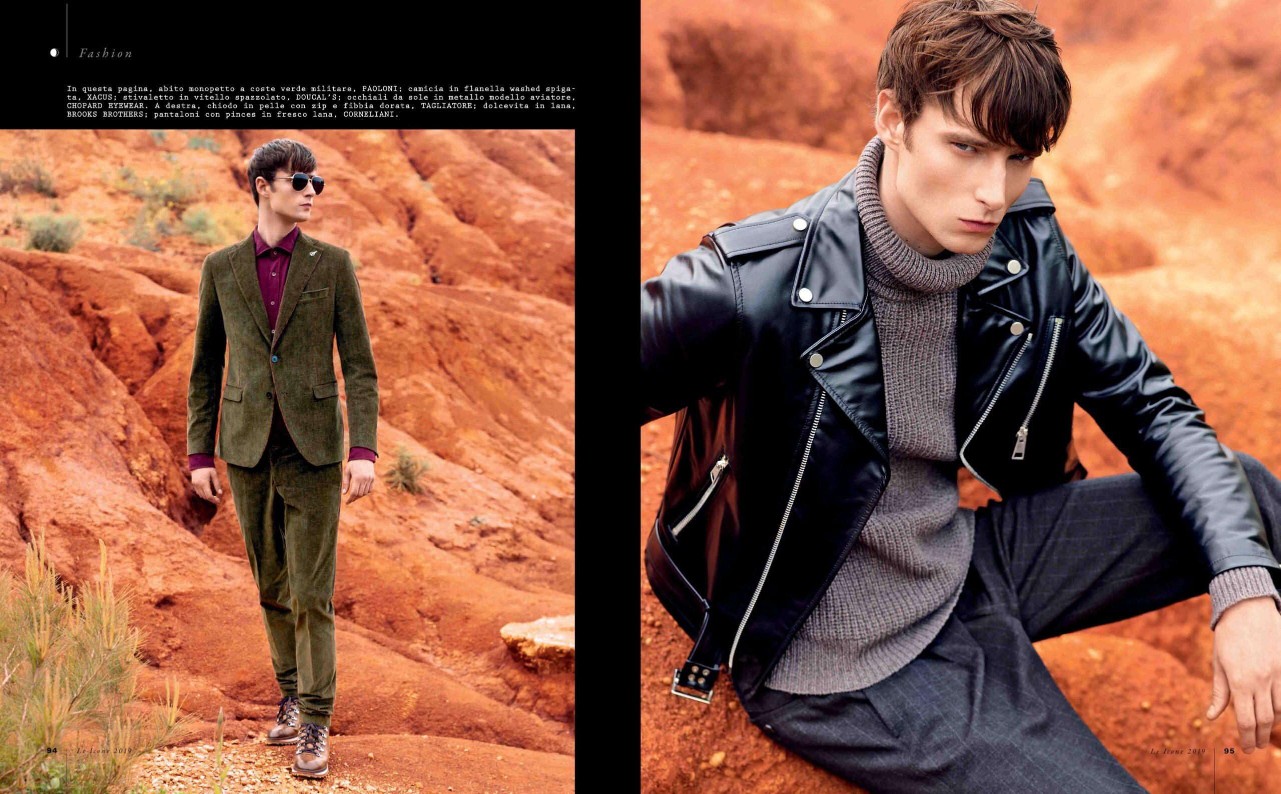 Gentleman Magazine Italia – Il Pianeta Rosso