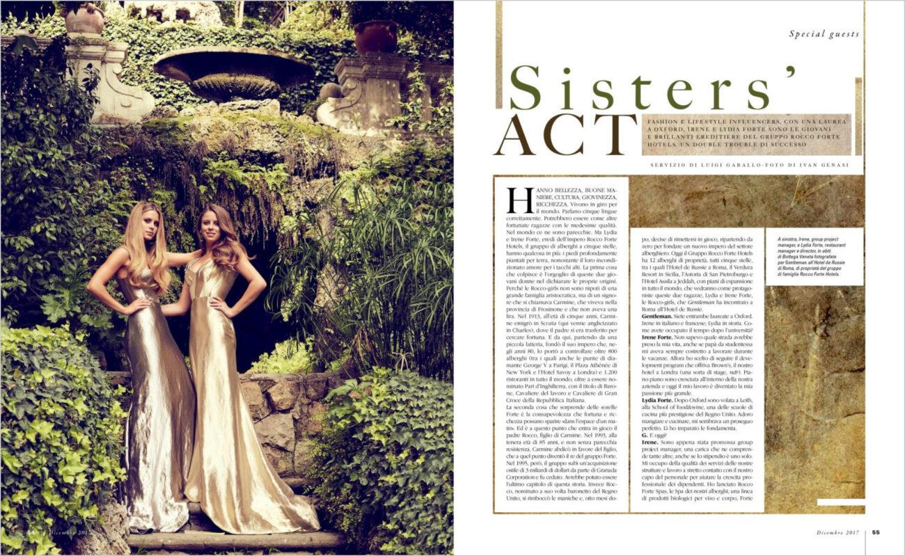 Gentleman – Sisters' Act