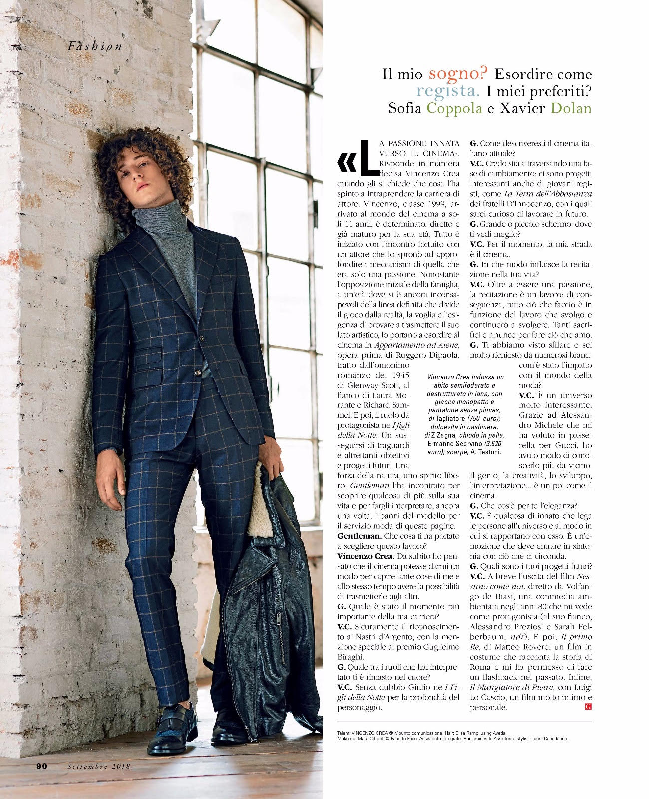 Gentleman Magazine Italia – Take it easy